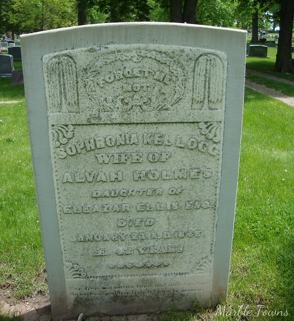Woodlawn Cem-Green Bay-Sophronia Kellogg.JPG
