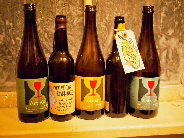 Hill Farmstead Bottles