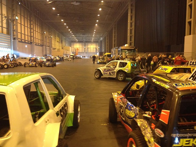 Behind the scenes at the Autosport International Show 2014