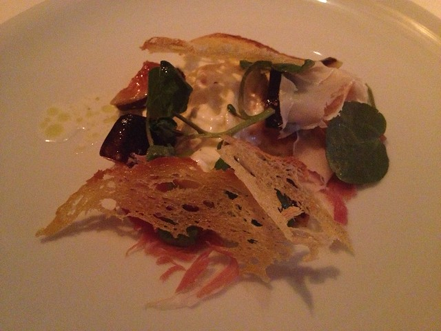 First crop fig and burrata - Jardiniere