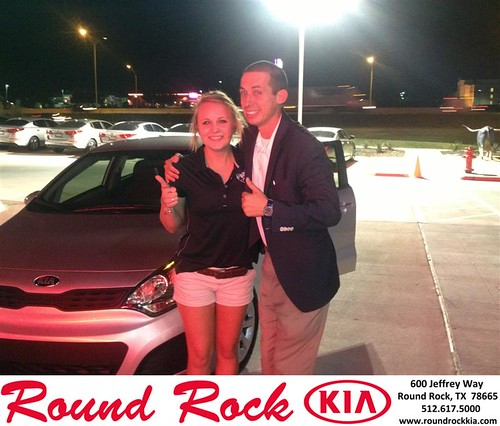Thank you to Bianca  Caps on your new 2013 #Kia #Rio from Derek Martinez and everyone at Round Rock Kia! #NewCar by RoundRockKia