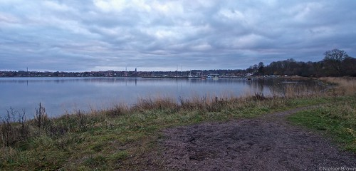 Roskilde before dawn