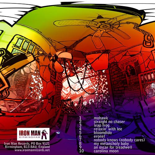 John Sinclair - Mohawk back cover