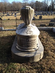 Minshall Painter tombstone