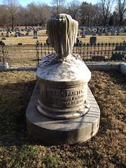 Minshall Painter tombstone