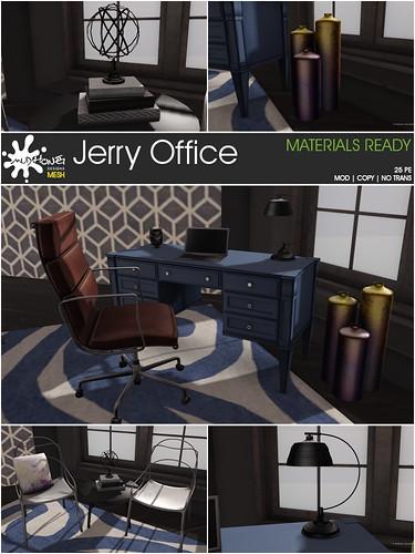 mudhoney jerry office