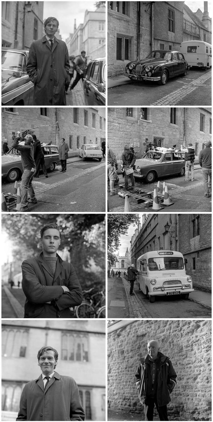 endeavour filming