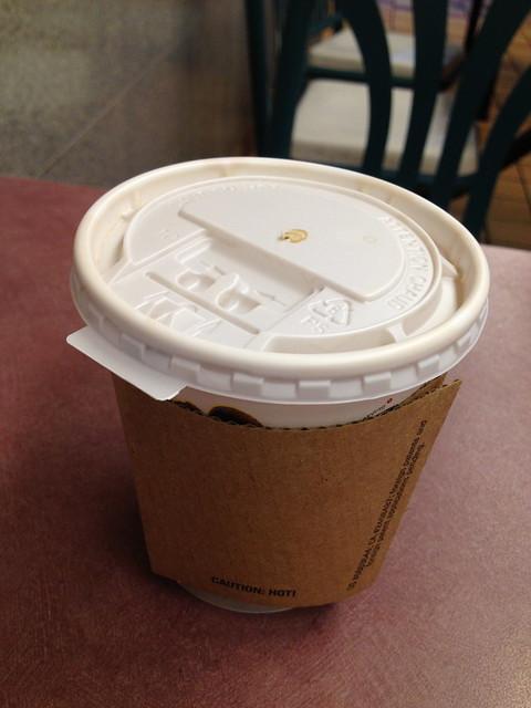 Seattle's Best coffee - Burger King