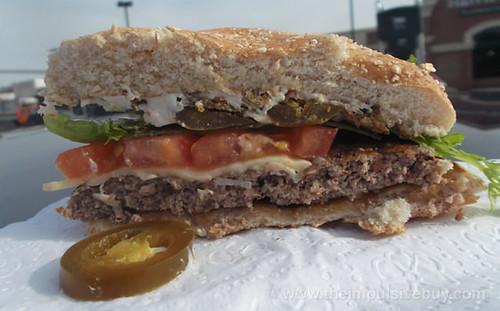 McDonald's Jalapen?o Kicker Quarter Pounder Side shot