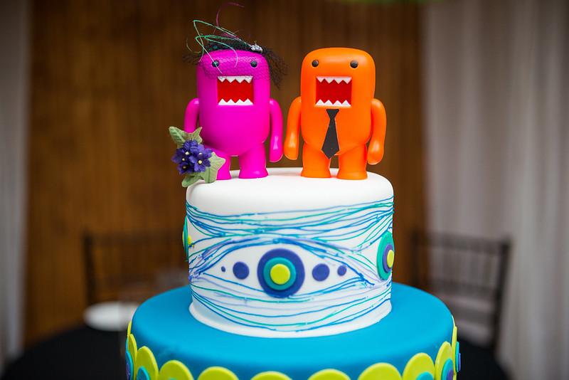 Domo Cake topper