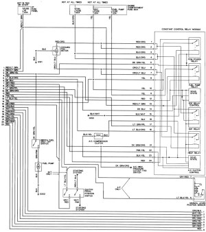 Tracing a CCRM to ECM wire in a 95 GT  Ford Mustang