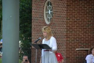 2014_7_3 Furman President Dr. Elizabeth Davis