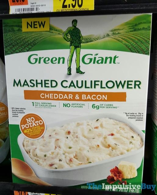 Green Giant Cheddar & Bacon Mashed Cauliflower