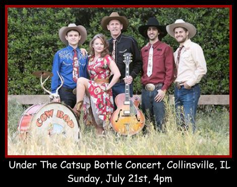 Cow Bop at Catsup Bottle 7-21-13