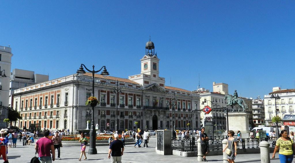 Madrid-Palacio de la Comunidad de Madrid-Puerta del Sol