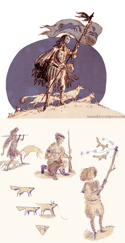 Illustration Friday: Totem