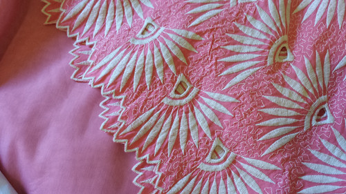embroidered cotton and silk/cotton from DCF