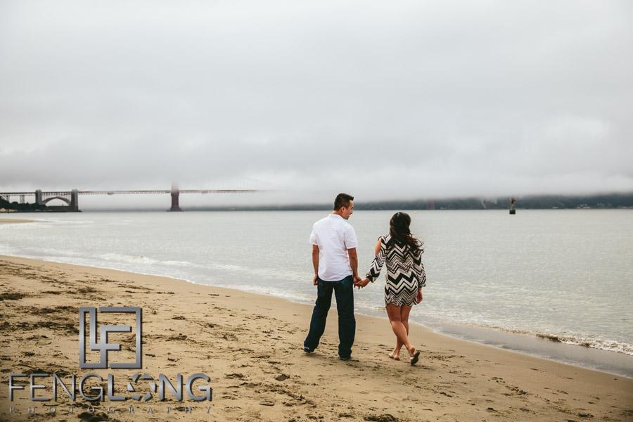 Golden Gate Bridge Engagement Session