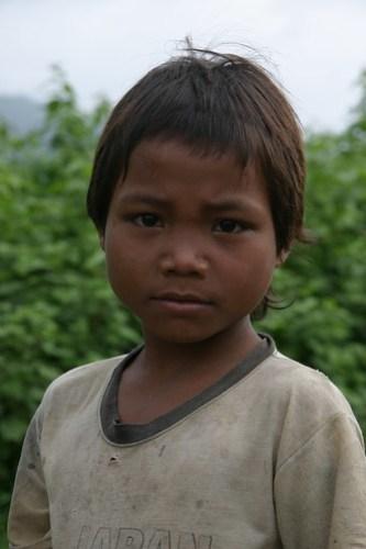 Boy from Vietnamese Hilltribe