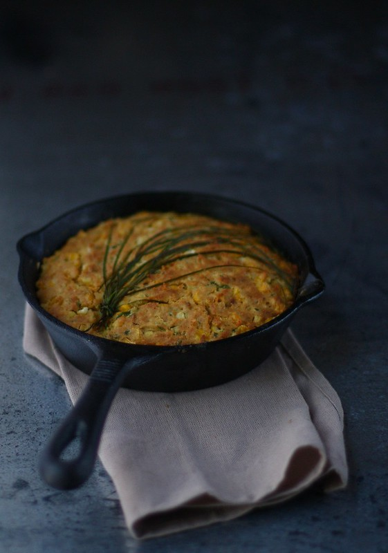 Skillet Cornbread with Jalapenos 2