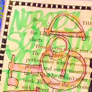 "Art Journal Every Day: ""Life isn't fair but God is""-close ups"