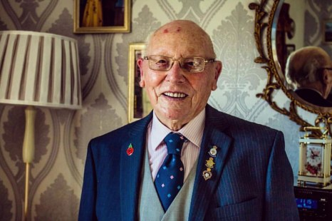 We were invited to chat to this remarkable man yesterday. Roy Hardacre is 95 years young and he has no intention of slowing down. Shortly after our meet up he was off ballroom dancing with his partner Barbara. The couple go dancing all over the country, h
