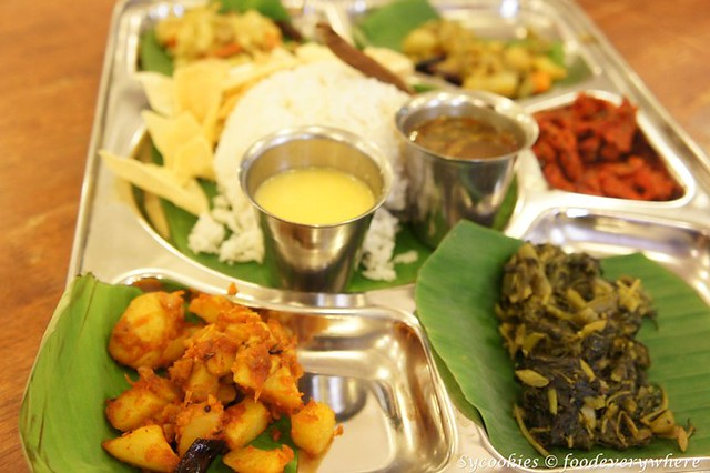5.fierce curry -banana leaf rice (3)