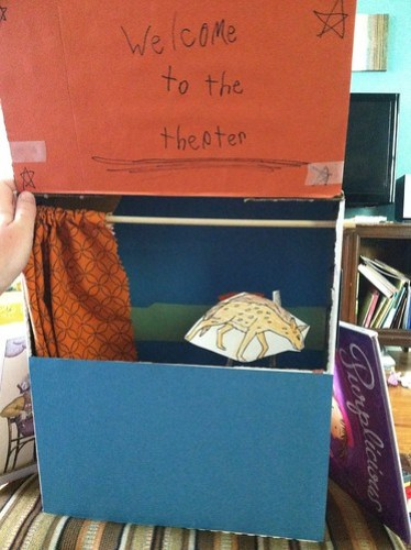 box puppet theater