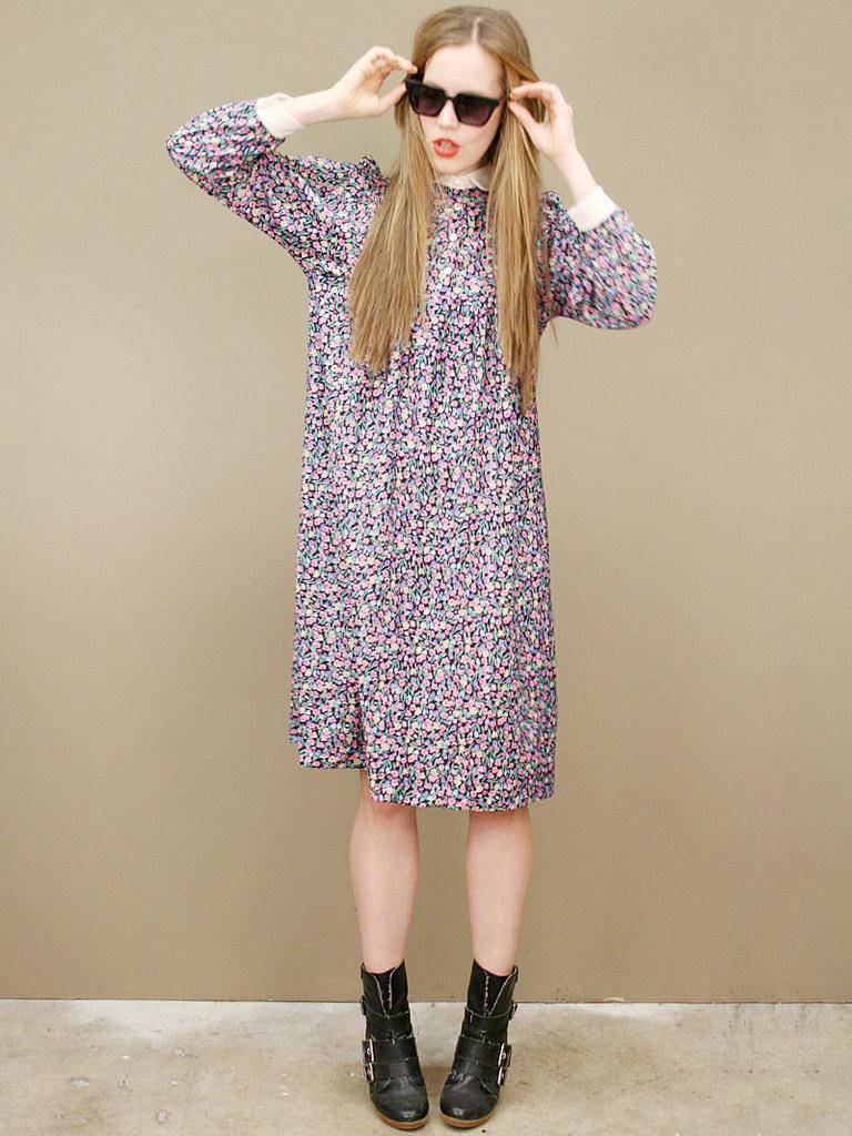vintage-floral-shirt-dress-1