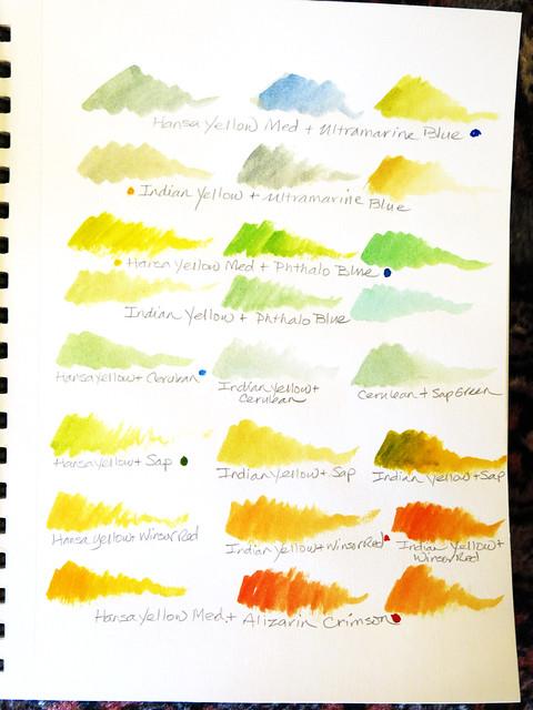 Watercolor Mixes, Part 3