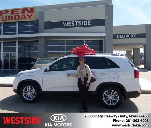 Happy Birthday to Carrie Matos from Guzman Gilbert and everyone at Westside Kia! #BDay by Westside KIA