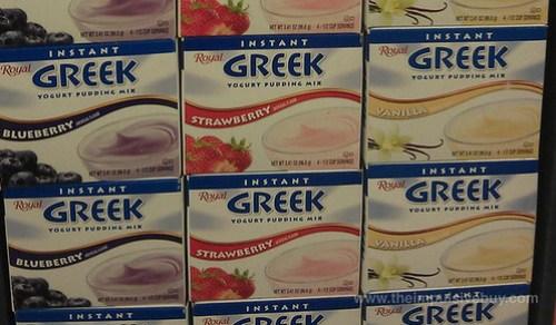 Royal Instant Greek Yogurt Pudding Mix