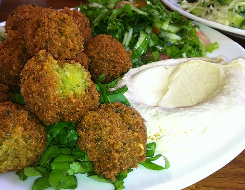 Seriously tasty falafel by nikki.j.thorpe