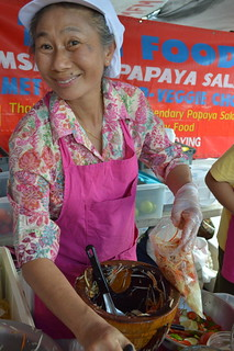 She makes awesome Thai Papaya Salad
