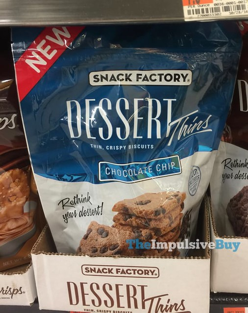 Snack Factory Chocolate Chip Dessert Thins