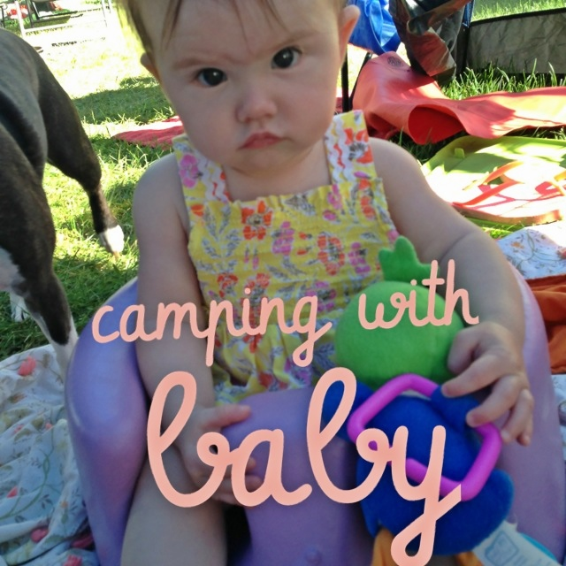 Coming up Thursday on the blog Camping with Baby  confessionsofamarinewife.blogspot.com #camping #baby #blog