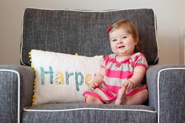 Harper at 10 months