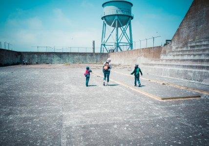 Alcatraz - Backyard