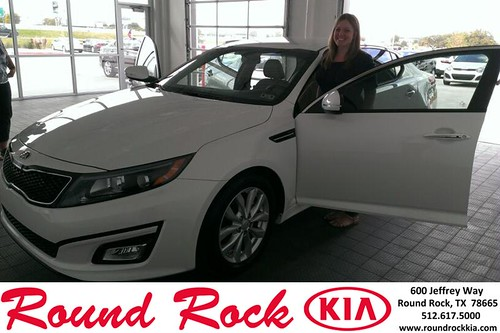 Thank you to Megan Hanna on your new 2013 #  #  from Ruth Largaespada and everyone at Round Rock Kia! #LoveMyNewCar by RoundRockKia