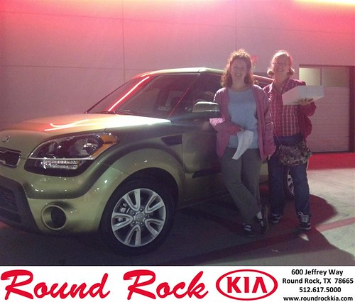 Thank you to Melissa Law on your new 2013 #Kia #Soul from Bobby Nestler and everyone at Round Rock Kia! #LoveMyNewCar by RoundRockKia