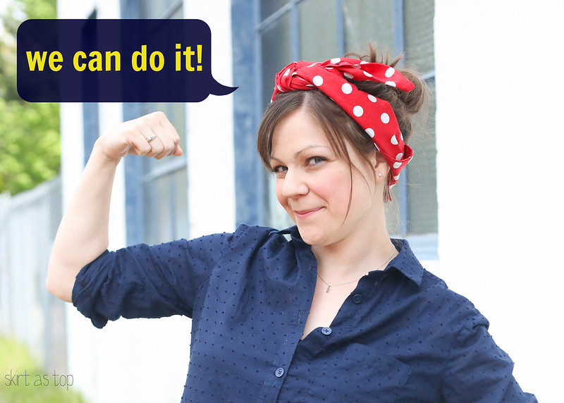 rosie the riveter inspired