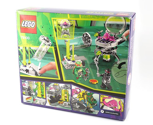 Nickelodeon Teenage Mutant Ninja Turtles LEGO 79100 Kraang Lab Escape 02