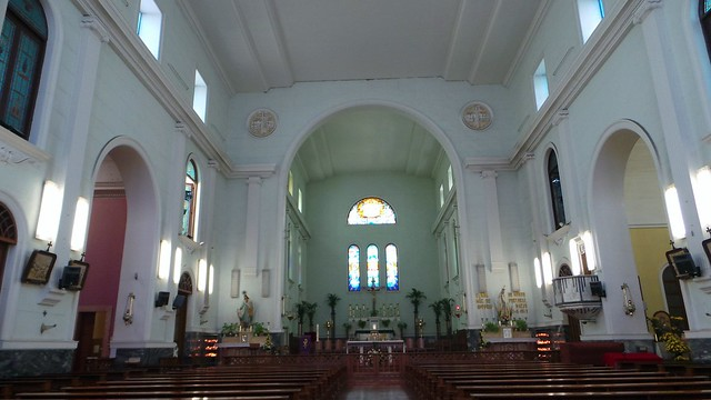 inside the Acauu cathedral