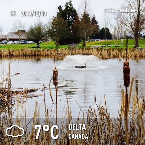 #weather #instaweather #instaweatherpro  #sky #outdoors #nature #world #love #followme #follow #beautiful #instagood #fun #cool #like #life #nice #happy #colorful #photooftheday #amazing #delta #canada #day #winter #rain #cold #ca ☁️下午好☕️