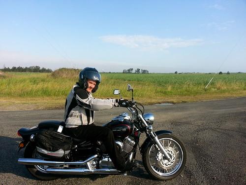 Dad on his wheels by andrewgillsag