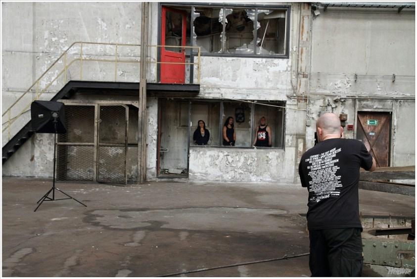 Behind the scenes van de fotosessie met XMH