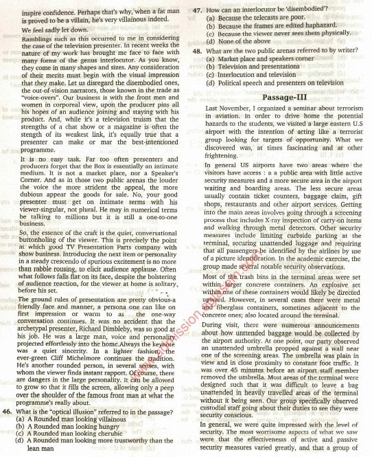 Mat Previous Year Question Papers With Solutions Pdf
