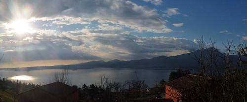 Sunset over Albisano
