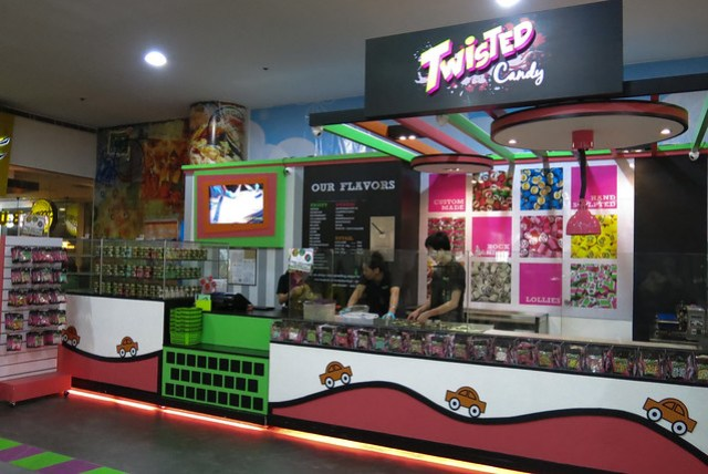Outside Twisted Candy
