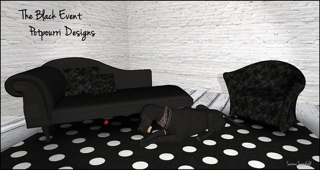 The Black Event: Potpourri Designs